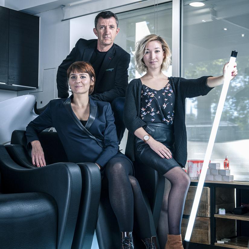 Uma Nova coiffure - Studio Phil Factory - photographe à Nantes